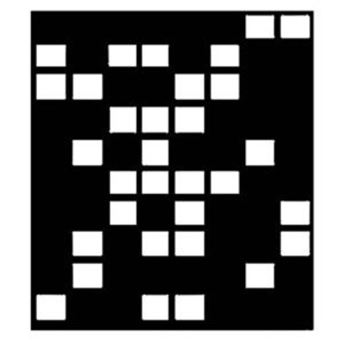 Chimera Domino Window Pattern for 42x42in Square Frame 5710