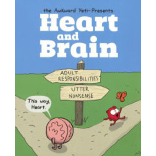 Heart And Brain: An Awkward Yeti Collection (Turtleback School & Library Binding Edition)