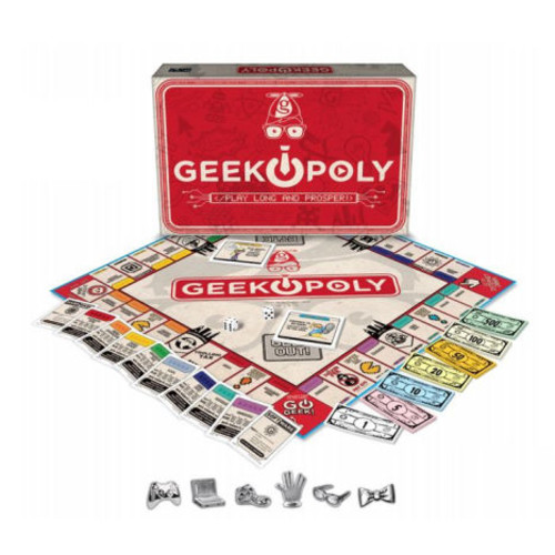 e for the Sky GEEK Opoly Board Game - Geek