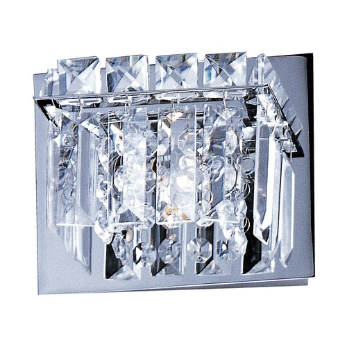 Bangle Wall Sconce No. E23251 [Glass Color : Crystal; Finish : Polished Chrome]