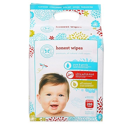 Honest 288-Count Wipes