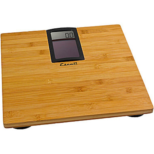 Escali Digital Solar Bamboo Bathroom Scale
