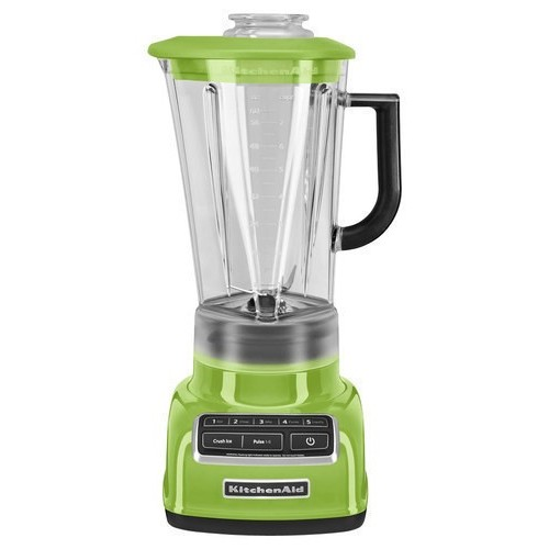 KitchenAid KSB1575GA 5-Speed Diamond Blender with 60-Ounce BPA-Free Pitcher - Green Apple [Green Apple]