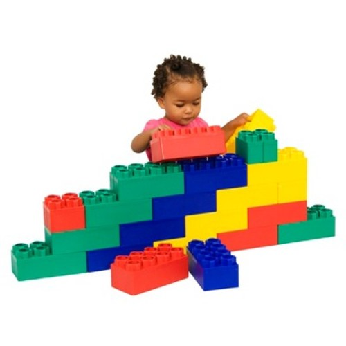 Kids Adventure Jumbo Blocks Beginner Set - 24 Piece