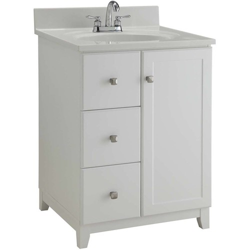 Design House 547125 Furniture-Style Vanity Cabinet, 24