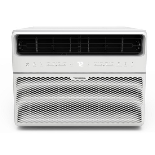 Toshiba 12,000 BTU 115-Volt Smart Wi-Fi Window Air Conditioner with Remote and ENERGY STAR