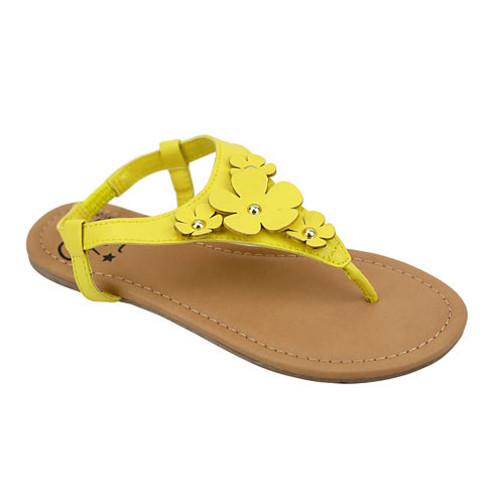 OMGirl Zinia Floral Elastic Strap Girls Sandals Little Kids/Big Kids JCPenney [medium]