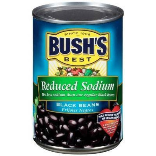 Bush's Black Beans Reduced Sodium 15 oz