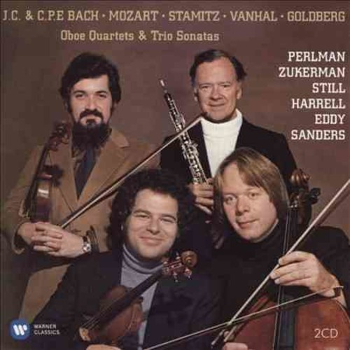 Itzhak Perlman - Baroque albums