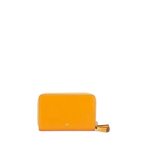 ANYA HINDMARCH Circulus Double Wallet, Orange