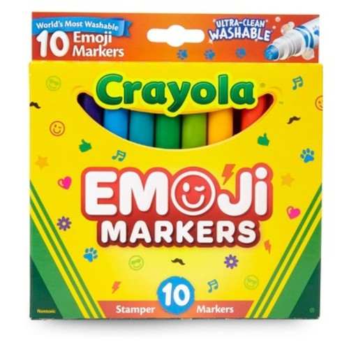 Crayola Mini Stamper Markers - 10 Count