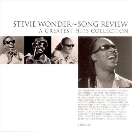 Stevie Wonder - Song Review: A Greatest Hits Collection (CD)