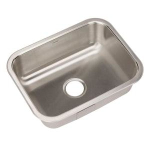 HOUZER Elite Series Undermount Stainless Steel 23 in. Single Bowl Kitchen Sink