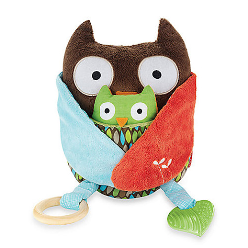 SKIP*HOP Treetop Friends Hug & Hide Owl Activity Toy
