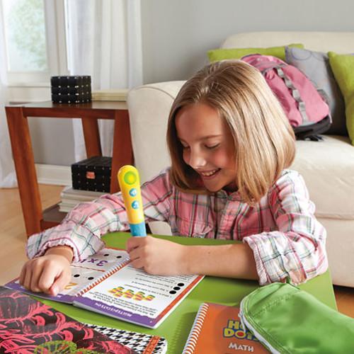 Educational Insights Hot Dots Jr. Let's Master Grade 3 Math Set with Hot Dots Pen