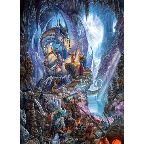 Cobble Hill Jigsaw Puzzle 1000-Piece - Dragon Forge