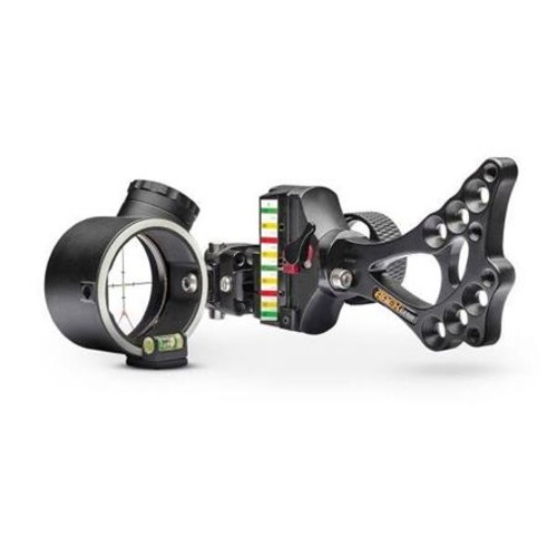 Apex Gear COVERT PRO 2 Dot Adjustable Green and Red LED PWR-DOT Bow Sight, Black