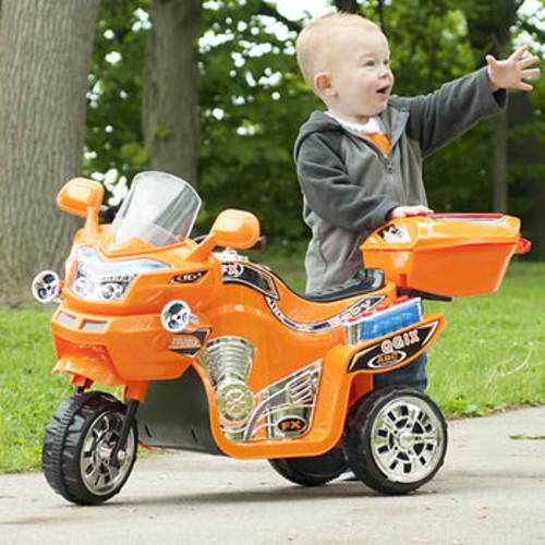 Lil' Rider 3-Wheel FX Sport Bike - Orange