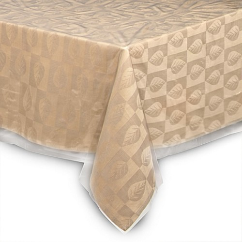 Crystal Clear 52-Inch x 70-Inch Oblong Tablecloth Protector