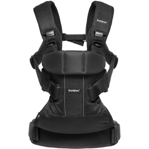 BabyBjorn Baby Carrier One Air - Black Mesh