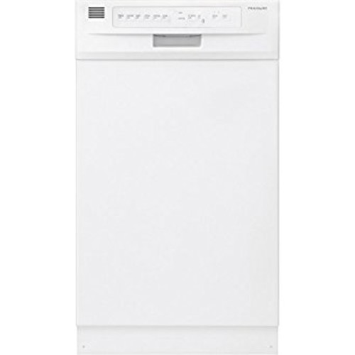 Frigidaire FFBD1821MW Built In Full Console Dishwasher in White [White]