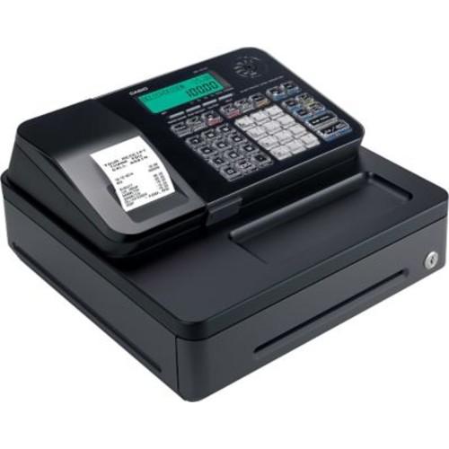 Casio Single Tape Thermal Print Cash Register - Black
