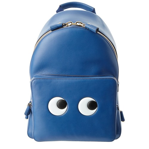 ANYA HINDMARCH Eyes Mini Leather Backpack