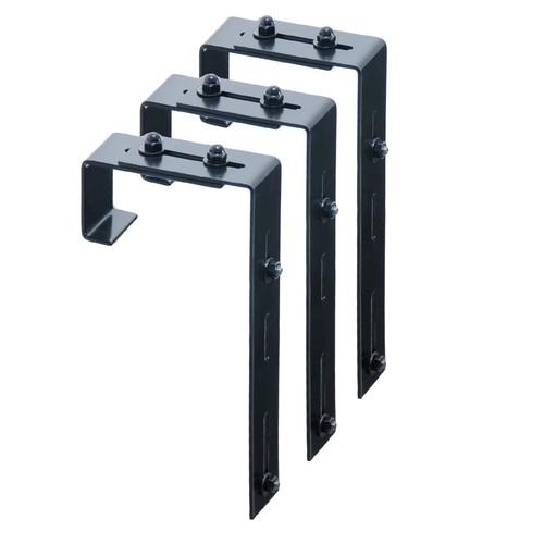 Adjustable Deck Rail Bracket 3-pack