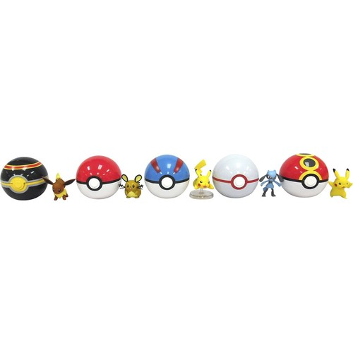 Pokmon - Clip and Carry Pokeball Action Figure