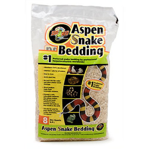 ASPEN SNAKE BEDDING 24QT ZOO MED/AQUATROL, INC ZM75124