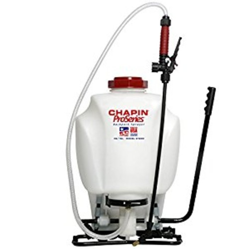 Chapin 61800 4-Gallon ProSeries Backpack Sprayer For Fertilizer, Herbicides and Pesticides
