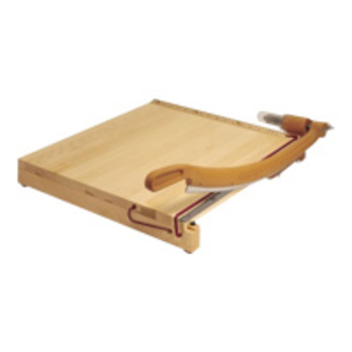 Swingline 1152A Classiccut Ingento Solid Maple Paper Trimmer, 15 Sheets, Maple Base, 18 X 18