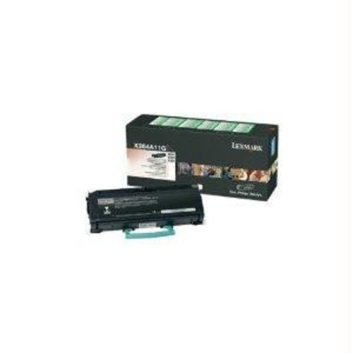 Lexmark X264A11G X264A11G Toner, 3500 Page-Yield, Black