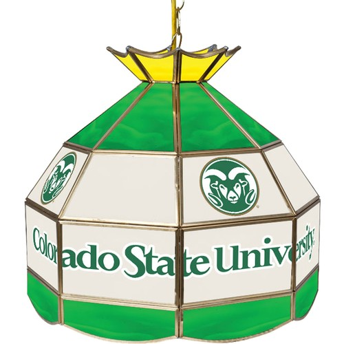 Trademark Games Colorado State Rams 40'' Tiffany Lamp