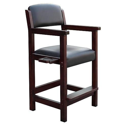 Hathaway Cambridge Spectator Chair - Rich Mahogany Finish