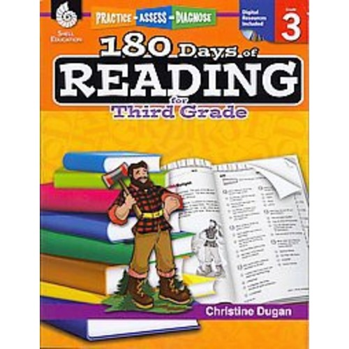 180 Days of Reading for Third Grade Book