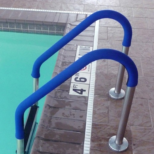 Blue Wave 4 ft. Grip for Pool Handrails in Blue