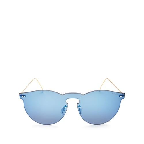 Leonard Mask Mirrored Shield Sunglasses, 47mm