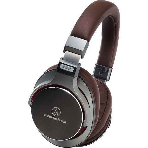 ATH-MSR7 SonicPro Over-Ear High-Resolution Audio Headphones (Gun Metal)