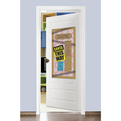 Lullubee DoorStoppers Holiday Color Mural