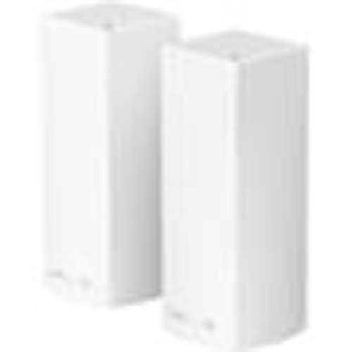 Linksys Velop Tri-band Wi-Fi System (2-pack) High-performance mesh Wi-Fi router system