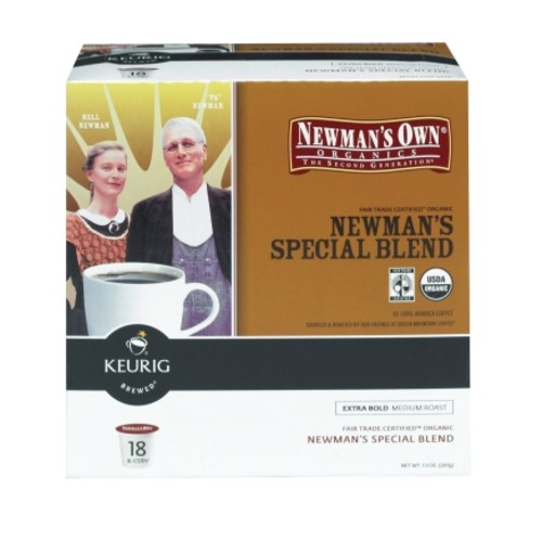 Keurig Newman's Own Special Blend Medium Roast Coffee K-Cups 18 pk (120250)