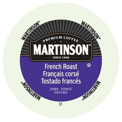 Martinson Coffee French Roast, RealCup portion pack for Keurig K-Cup Brewers, 192 Count (4320036)