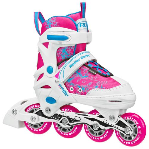 Roller Derby ION 7.2 Girl's Adjustable Inline Skate
