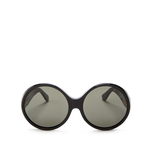 SAINT LAURENT Oversized Round Sunglasses, 59Mm