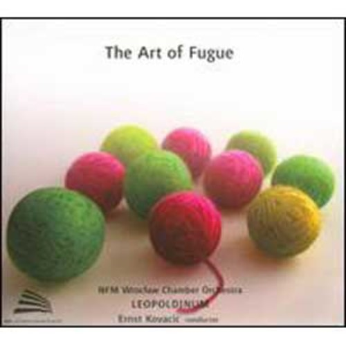 The Art of the Fugue By Ernst Kovacic (Audio CD)