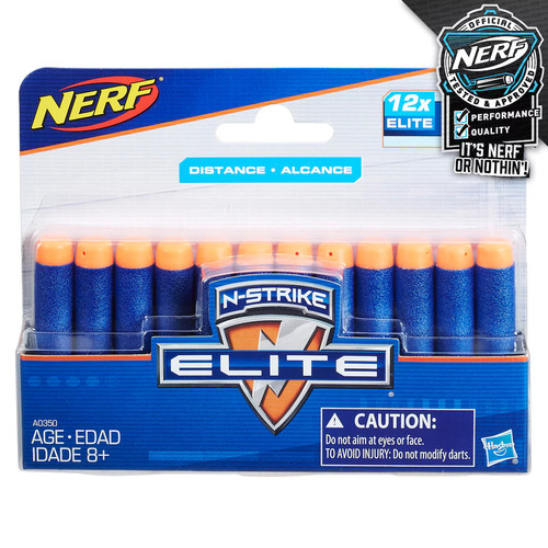 Official Nerf N-Strike Elite Series 12-Dart Refill Pack [Standard Packaging]