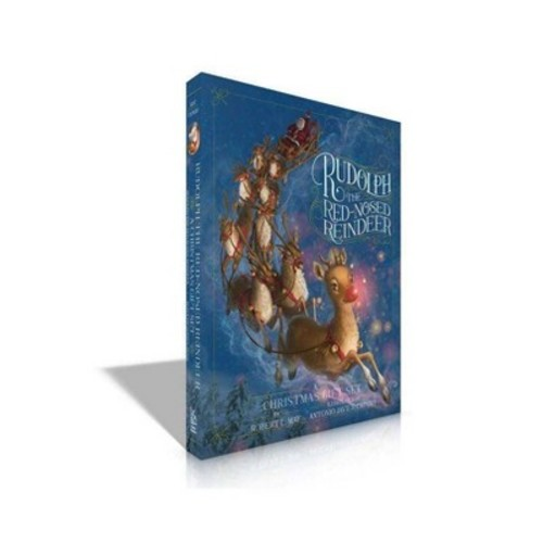 Rudolph the Red-Nosed Reindeer a Christmas Gift Set (Hardcover) (Robert L. May)