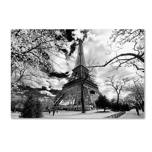 Trademark Global Philippe Hugonnard 'Eiffel Tower' Canvas Art