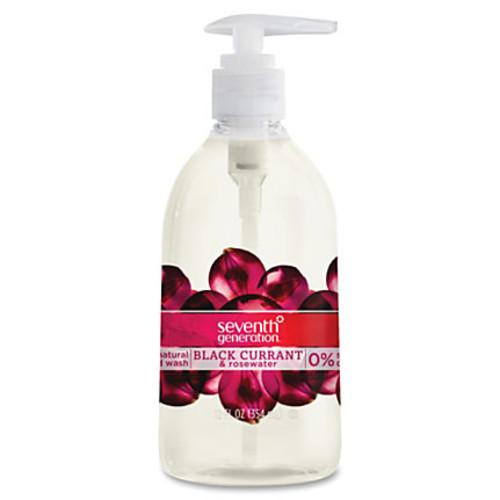 Seventh Generation Natural Hand Wash, Black Currant & Rose Water, 14.4 Oz